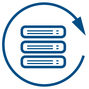 Illustration for Physical server backup